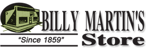 Billy Martin's Store Logo